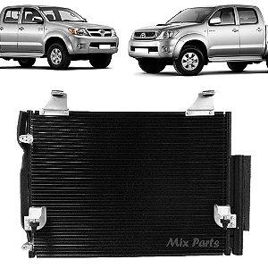 Condensador do Ar Condicionado Hilux Diesel 2005 a 2015