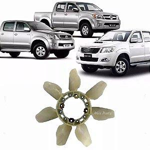 Hélice Do Radiador Toyota Hilux E Sw4 3.0 E 2.5 2005 A 2015