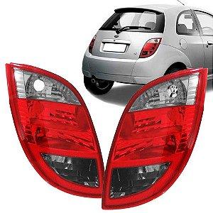 Lanterna Traseira Com Ré Fumê Ford Ka 2008 a 2008