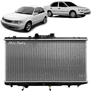 Radiador de Água do Motor Corolla 1994 a 2001 Automático