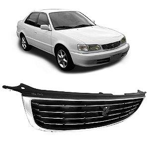 Grade Dianteira Corolla 1998 A 2001 com Friso Cromado