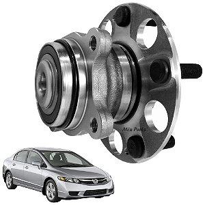 Cubo de Roda Traseiro Civic 2007 a 2011 com Abs Magnético