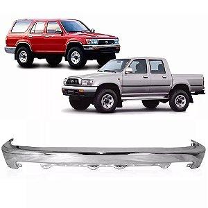 Parachoque Dianteiro Cromado Hilux 2002 a 2004 e SW4 1992 a 1995