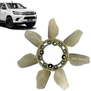 Hélice Do Radiador Toyota Hilux 2016 a 2018 Diesel