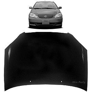Capô do Motor Toyota Corolla / Fielder 2003 a 2008