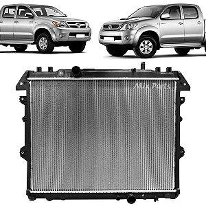 Radiador de Água do Motor Hilux Manual Diesel 2005 a 2011