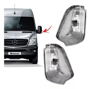 Par de Pisca do Retrovisor Mercedes Sprinter 2012 a 2017