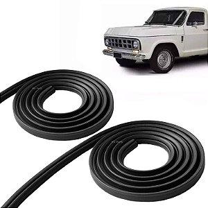 Jogo de Borracha de Vedação da Porta Chevrolet A10 C10 D10 Veraneio ate 1984