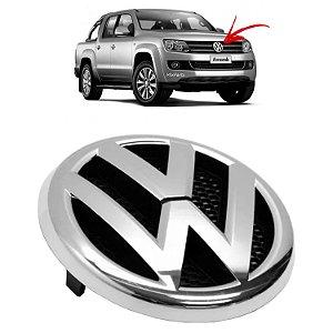 Emblema Da Grade Dianteira VW Amarok 2011 a 2016