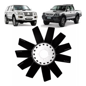 Helice Do Radiador L200 / Pajero Sport Motor 2.5 Turbo Diesel - 11 Pás