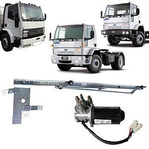 Armação Galhada do Limpador do Parabrisa com Motor Ford Cargo 1985 A 2010