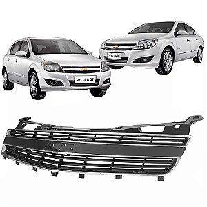 Tela Grade Dianteira Chevrolet Vectra 2009 a 2012 Moldura Cromada