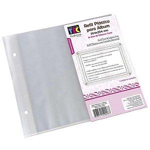 Refil Plástico para Álbum 209x205mm