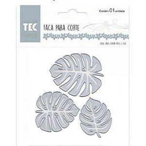 Faca para Corte e Relevo Elegance Toke e Crie 21525 Folha Tropical