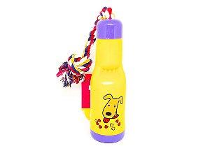 Brinquedo para cachorro garrafa interativa AZPR