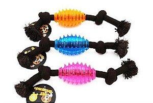 Brinquedo Bola espacial com corda Bom Amigo
