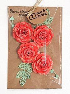 Flores Artesanais Rosas TKG Store