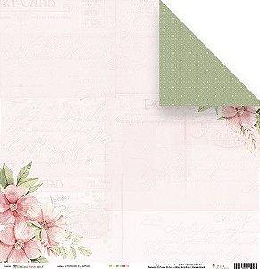 Kit Papéis Scrapbook Coleção Cartas para Você - Juju Scrapbook