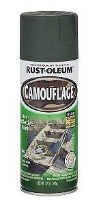 Spray Rust Oleum Camouflage Deep Forest Green / Verde Floresta - 340ml