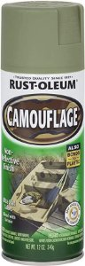 Spray Rust Oleum Camouflage - Army Green / Verde Exército - 340ml
