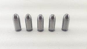 Snap Caps Munição de Manejo em Metal para Pistola .380 - 5 unidades