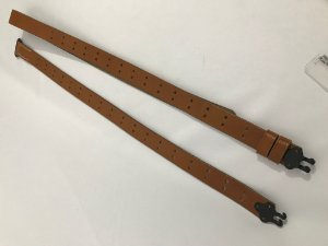 Bandoleira para Fuzil M1 Garand - Segunda Guerra Mundial - Em Couro