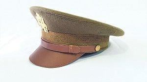 Quepe de Oficial Americano Segunda Guerra Mundial - US Army Service Hat