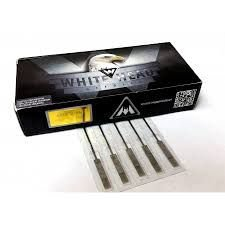 agulha white head 3 traço (50 unidades)