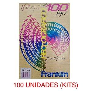 CAIXA DE PAPEL HECTOGRÁFICO FRANKLIN 100 UNI
