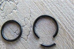 Piercing Segmentado Preto