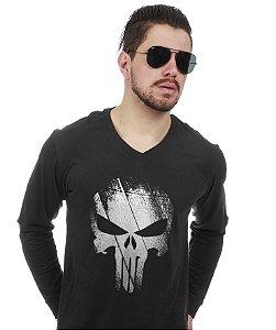 c2d770880f73c Camiseta Manga Longa The Punisher