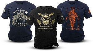 Kit 4 Camisetas - Mercado do Milico  6470351251d
