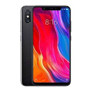 """Smartphone Xiaomi Mi 8 - 64GB/ 6,21""""/ 6GB RAM/ TRASEIRA 12MP + 12 - FRONTAL 20MP/ Preto"""