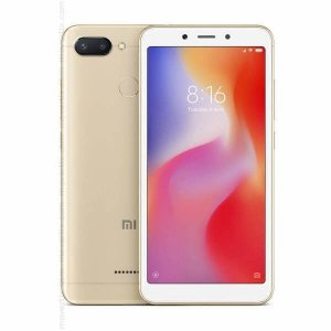 Smartphone Xiaomi Redmi 6 - 64GB/ 4GB RAM/ 5,45 polegadas/ 12.0MP + 5.0MP/ Dourado