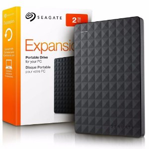 HD Externo Seagate Expansion 2TB - Preto