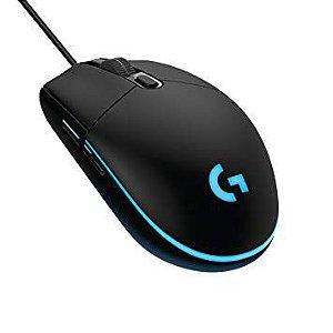 Mouse Logitech Gamer G203 - Preto