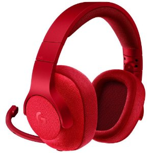 Headset Logitech G433 para Xbox One, PS4, Switch, PC e Mobile - Vermelho
