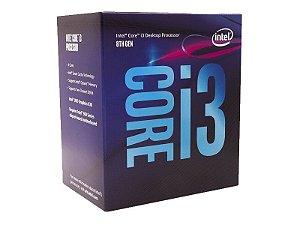 Processador Intel Core i3-8100 Coffee Lake, Cache 6MB, 3.6GHz, LGA 1151 - 8th Geração