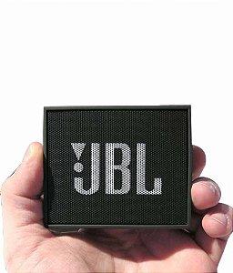 Caixa de Som JBL GO - Preto