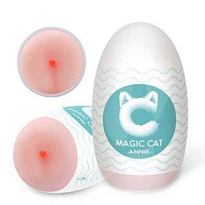 MASTURBADOR EGG EM CYBERSKIN FORMATO ÂNUS ANNIE MAGIC CAT