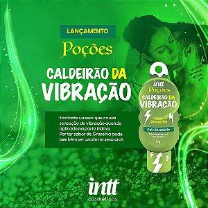 EXCITANTE UNISSEX CALDEIRÃO DA VIBRAÇÃO 15G LINHA POÇÕES INTT