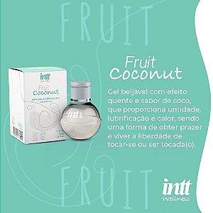 GEL BEIJÁVEL COM EFEITO QUENTE FRUIT COCONUT 40G INTT WELLNESS