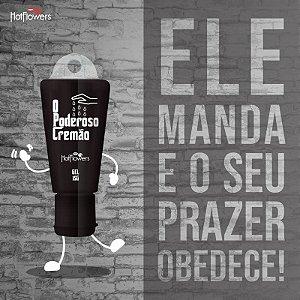 O PODEROSO CREMÃO SENSIBILIZADOR MASCULINO 15G LINHA BRASILEIRINHOS HOT FLOWERS