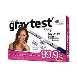 GRAVTEST EASY TESTE DE GRAVIDEZ CIMED