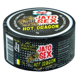 GEL COMESTÍVEL JATO SEX HOT DRAGON 7G PEPPER BLEND