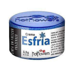 CREME EXCITANTE ESFRIA UNISSEX 3,5G HOT FLOWERS