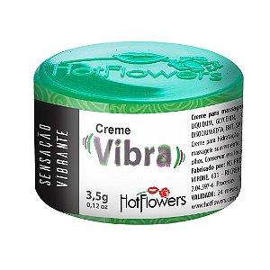 CREME EXCITANTE VIBRA UNISSEX 3,5G HOT FLOWERS