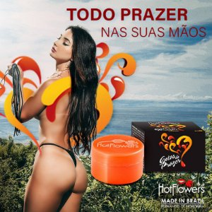 GOTAS DO PRAZER CREME EXCITANTE HOT FLOWERS