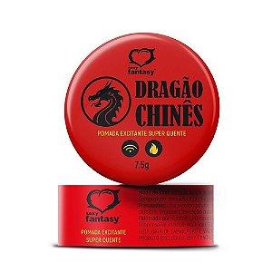POMADA DRAGÃO CHINÊS 7,5G SEXY FANTASY