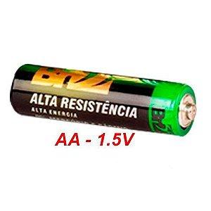 PILHA DE ALTA RESISÊNCIA BR55 AA 1.5V - UNITÁRIA